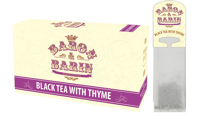 BLACK TEA WITH THYME  (Арт. 437)